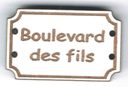BD700 - Bouton Boulevard des fils