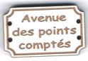 BD705 - Bouton Avenue des points comptés