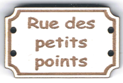 BD707 - Bouton Rue des petits points