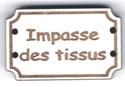 BD709 - Bouton Impasse des tissus