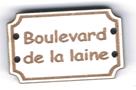 BD710 - Bouton Boulevard de la laine