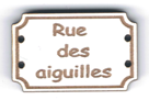 BD711 - Bouton Rue des aiguilles