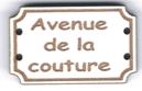 BD714 - Bouton Avenue de la couture