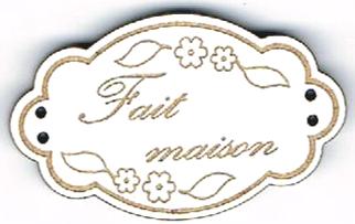 BE121B - Bouton Fait maison