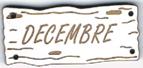 BE411B - Bouton Décembre