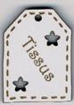 BE503 - Etiquette ajourée