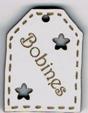 BE505 - Etiquette ajourée