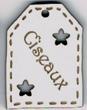 BE507 - Etiquette ajourée