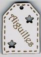 BE508 - Etiquette ajourée