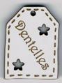 BE513 - Etiquette ajourée