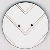BF605 - Bouton rond géométrique n°2