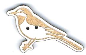 BG021 - Bouton Oiseau