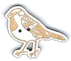 BG023 - Bouton Oiseau