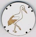 BG031 - Bouton cigogne n°2