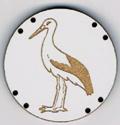 BG034 - Bouton cigogne n°5