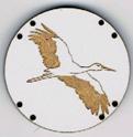 BG035 - Bouton cigogne n°6