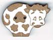 BG040 - Bouton vache 1