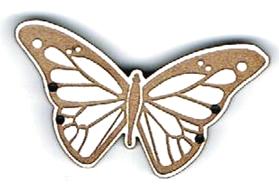BG056 - Bouton grand papillon