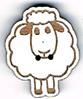 BG058 - Bouton mouton de face