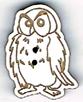 BG061 - Bouton hibou