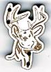 BG068 - Bouton cerf