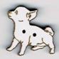BG076 - Bouton chien