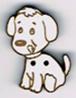 BG081 - Bouton chien