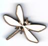 BG083 - Bouton libellule