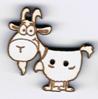 BG098 - Bouton chèvre