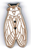 BG106 - Bouton cigale