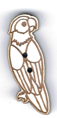 BG109 - Bouton perroquet