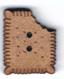 BI013 - Bouton mini petit beurre croqué