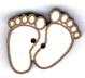 BJ006 - Bouton pieds