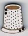 BL007 - Bouton petit dés à coudre
