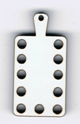 BL015 - Bouton mini tri-fils palette