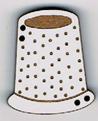 BL103 - Bouton grand dés à coudre
