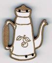 BL114 - Bouton cafetière cerise