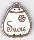 BL118.2 - Bouton pot rond sucre