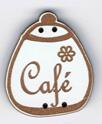 BL118.3 - Bouton pot rond Café