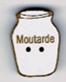 BL122 - Bouton pot de moutarde