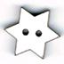 BNG105B - Bouton Grande étoile