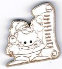 BN208 - Bouton père noël et sa liste