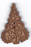 BN302 - Bouton arbre décoré 2