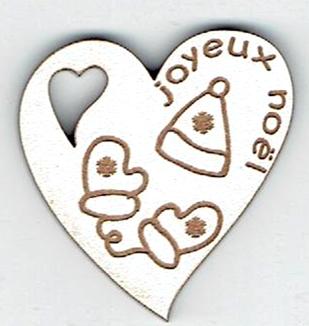 BN403- Coeur, bonnet et gants