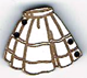 BR015 - Bouton jupe