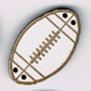 BR101 - Bouton ballon de rugby