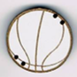 BR102 - Bouton ballon de basket