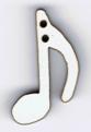 BR114 - Bouton note de musique 2