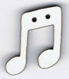 BR115 - Bouton note de musique 3