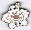 BR402 - Bouton tête de clown